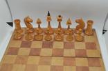 Шахматы старые дерево photo 4