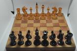 Шахматы старые дерево photo 5