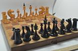 Шахматы старые дерево photo 1