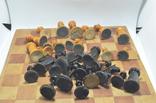Шахматы старые дерево photo 8