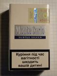Сигареты Monte Carlo SUBTLE SILVER фото 2