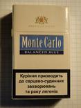 Сигареты Monte Carlo Balanced Blue