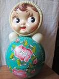 Неваляшка-кукла 40см(поздравительная) photo 1