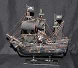 Модель корабля Черная Жемчужина. Пиратский, фото №2