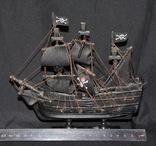 Модель корабля Черная Жемчужина. Пиратский, фото №5