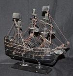 Модель корабля Черная Жемчужина. Пиратский, фото №7