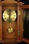 Компактные настенные маятниковые часы. Германия. (0243) photo 2