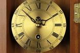 Компактные настенные маятниковые часы. Германия. (0243) photo 3
