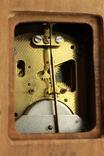 Компактные настенные маятниковые часы. Германия. (0243) photo 10