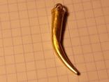 Амулет ЧК,900°(Рог изобилия) photo 2