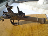 Карманный,бронзовый, Флотский ,пистоль 19 века!Бельгия. photo 1