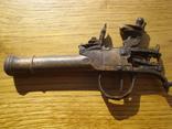 Карманный,бронзовый, Флотский ,пистоль 19 века!Бельгия. photo 2
