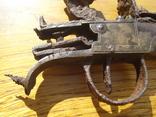 Карманный,бронзовый, Флотский ,пистоль 19 века!Бельгия. photo 3