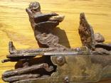 Карманный,бронзовый, Флотский ,пистоль 19 века!Бельгия. photo 4