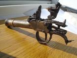 Карманный,бронзовый, Флотский ,пистоль 19 века!Бельгия. photo 7
