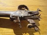 Карманный,бронзовый, Флотский ,пистоль 19 века!Бельгия. photo 9