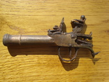 Карманный,бронзовый, Флотский ,пистоль 19 века!Бельгия. photo 12