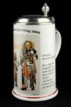Коллекционная пивная кружка. Пивоварня Вильгельма Майера. Ротвайль. Германия. (0253)