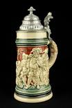 Старая коллекционная пивная кружка. Simon Peter Gerz. Германия. (0254)