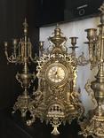 Часы каминные FHS Franz Hermle с боем. Германия.