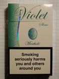 Сигареты Violet Metnthol slims фото 1