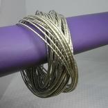 59 тонких браслетов в одной связке, фото №3