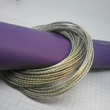 59 тонких браслетов в одной связке, фото №4