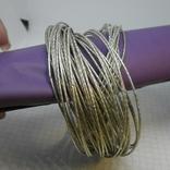 59 тонких браслетов в одной связке, фото №5