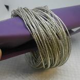 59 тонких браслетов в одной связке, фото №2