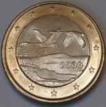Фінляндія 1 євро, 2000