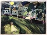 Рисунок с домами., фото №2