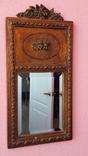 Зеркало в резной раме 19 век