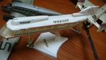 Самолеты СССР, сборная модель, 8 шт, Ту-144, Як-40, Як-24, фото №9