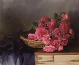 """Натюрморт с садовыми розами"" 45х55 см, х/м, Костенко А.С. photo 1"