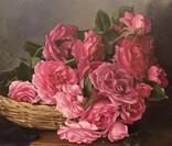 """Натюрморт с садовыми розами"" 45х55 см, х/м, Костенко А.С. photo 2"