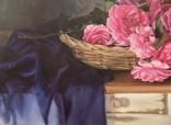 """Натюрморт с садовыми розами"" 45х55 см, х/м, Костенко А.С. photo 4"