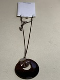 Новый кулон с перламутра на шнурке из италии, фото №4