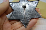 Знак Sheriff Texas. Шериф Звезда. США. Большой.копия, фото №7