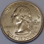 США ¼ долара, 2006 Квотер штату Північна Дакота фото 2