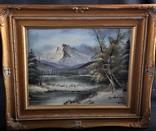 Картина Горный пейзаж T. Arhlag Австрия