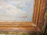 """Картина """"Зимний лес"""" 1960, photo number 4"""