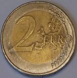 Австрія 2 євро, 2012 10 років готівковому євро фото 2
