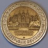 Німеччина 2 євро, 2007 Шверинська Фортеця, Мекленбург-Передня Померанія