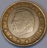 Бельгія 1 євро, 1999