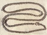 Цепь серебро 81 грамм, Италия, Sterling., фото №2