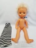 Кукла СССР клеймо ДЗИ 44 см. на резинках, фото №2