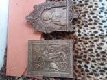 Две иконы Победоносец и Николай