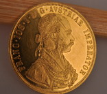 Австрия 4 дуката 1915 золото 13,98 грамм 986'