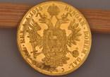 Австрия 4 дуката 1915 золото 13,98 грамм 986' фото 2