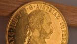 Австрия 4 дуката 1915 золото 13,98 грамм 986' фото 5